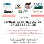 Charlas De Reproducción Y Cruces Genéticos